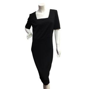 Foggy Ladies Black Dress
